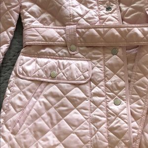 New quilted powder pink jacket
